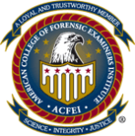 American College of Forensic Examiners logo